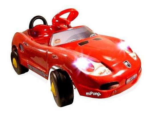 Karting A Pedal Infantil Porsche N. (sin Luz) Mipong