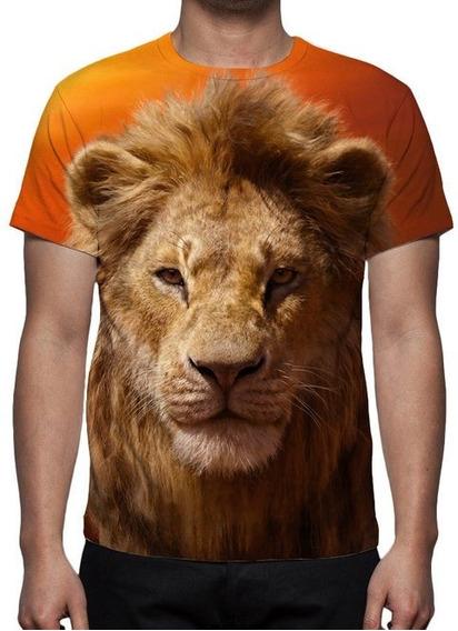 Camiseta Filme Rei Leão - Simba - Estampa Total