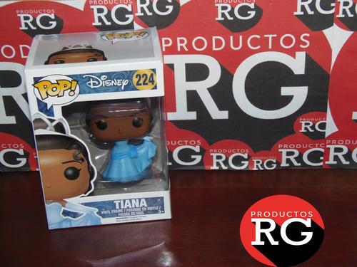 Pop! Disney -  Tiana 224 + Caja Protectora De Acetato *