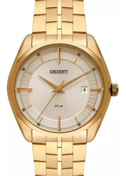Relógio Orient Feminino Dourado Fgss1176 S1kx