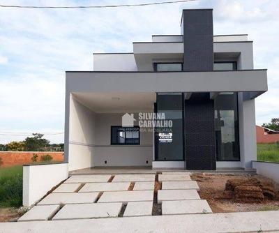 Casa À Venda No Condomínio Village Moutonnée Em Salto - Ca7219