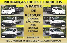 Mudanças Fretes E Carretos A Partir De R$150,00