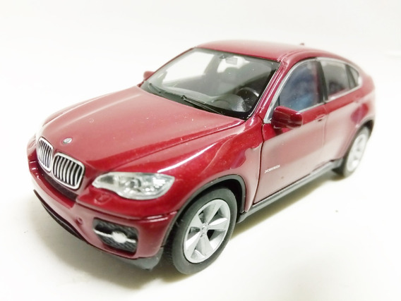 Auto Bmw X6 Coleccion Metal Esc1:38 Diecast Megacuisine