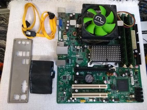 Placa Mãe Intel Dg31pr + Processador Pentium Dual Core + 4gb