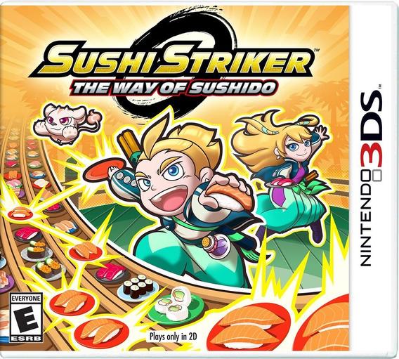 Sushi Striker The Way Of Sushido Nintendo 3ds Nuevo Sellado