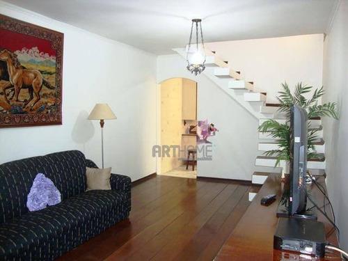 Sobrado Com 3 Dormitórios À Venda, 230 M² Por R$ 560.000,00 - Parque Terra Nova Ii - São Bernardo Do Campo/sp - So0147