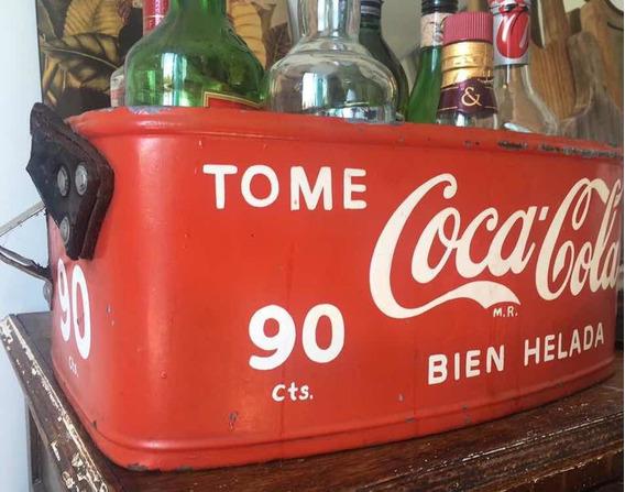 Antigua Heladerita De Cancha Coca Cola Heladera