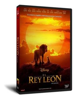El Rey León (2019) Dvd Español Latino / Inglés