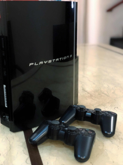 Playstation 3 500gb + Controles Dualshock/move + 24 Jogos