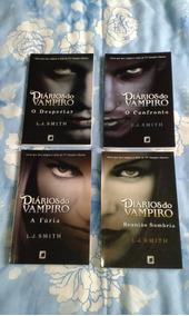 Coleção Diários Do Vampiro - Quatro Primeiros Títulos