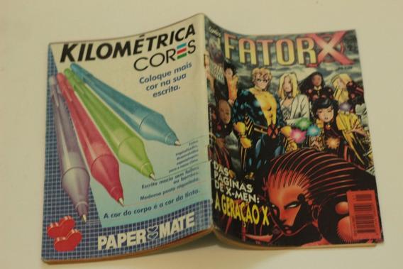 Hqs Fator-x N°1 De X-men A Geração X Editora Abril