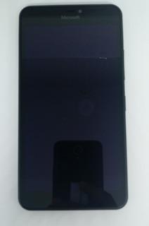 2° Microsoft Lumia 640 Xl Lte Preto C/ Defeito S/ Garantia