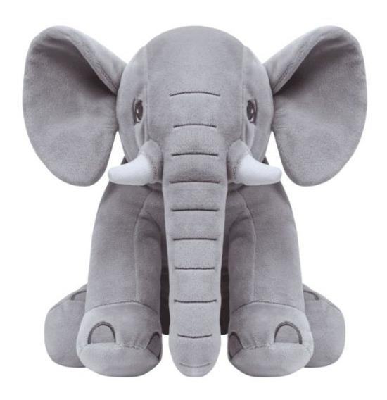 Elefantinho Azul + Bolsa Bercinho Cinza
