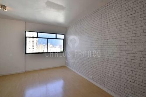 2 Dormitórios - Sem Vaga De Garagem - Cerqueira César - Cf62226