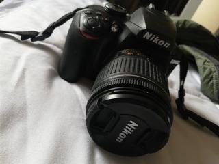 Cámara De Fotos Nikon 3400 1515 Disparos