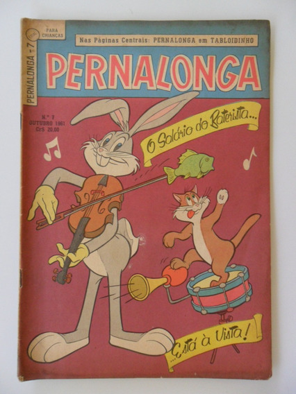 Pernalonga Nº 7! Ebal! Out 1961!