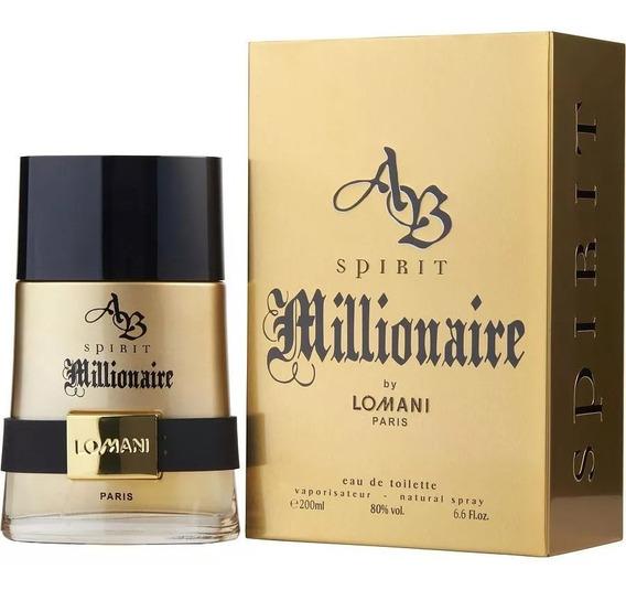 Perfume Spirit Millionaire Lomani Edt 200ml Original Lacrado