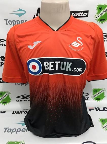 Camisa Oficial Swansea Away 2018/2019 Joma