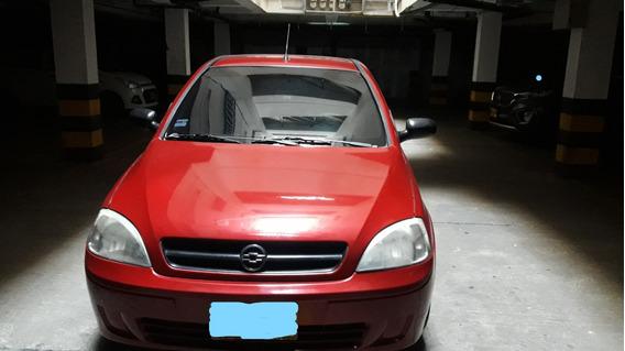Corsa Evolution Rojo 4 Puertas