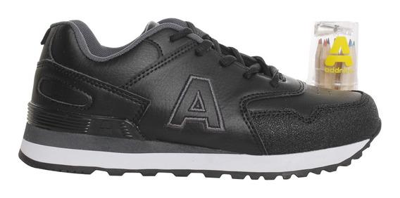 Zapatillas Addnice Moda Classic R.cordon + Lapicero Ng/ng