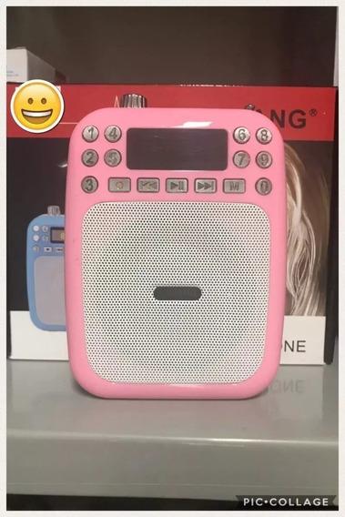 Microfone Amplificador Professor De Voz E Caixa De Som