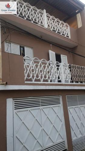 Sobrado A Venda No Bairro Jardim Brasil (zona Norte) Em São - 13114-1