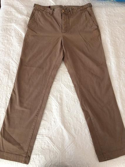 Pantalones Hombre Banana Republic Beritage 34/32 Color Café