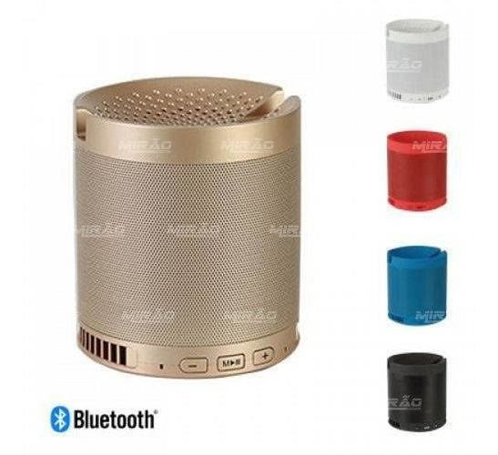 Caixa De Som Bluetooth Com Suporte Para Celular 5w - Hf-q3 D