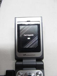 Celular Sony Ericsson W380 (bateria Ruim)