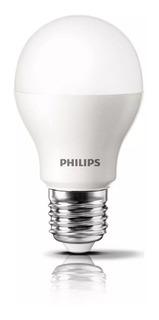 Pack X 10 Lampara Led Foco Philips Bulbo 12w = 95w E27