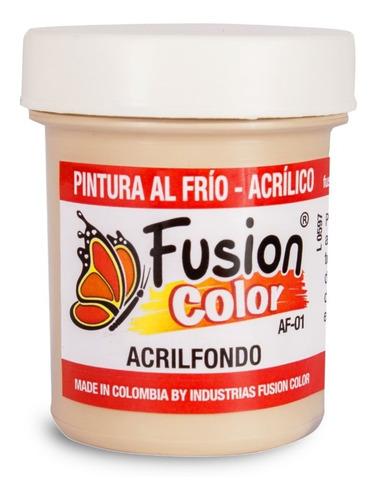 Imagen 1 de 1 de Fusion Color Acrilfondo X 60 Cc