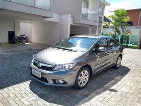Honda Civic 2.0 Exr Flex Aut. 4p - Top De Linha Único Dono.