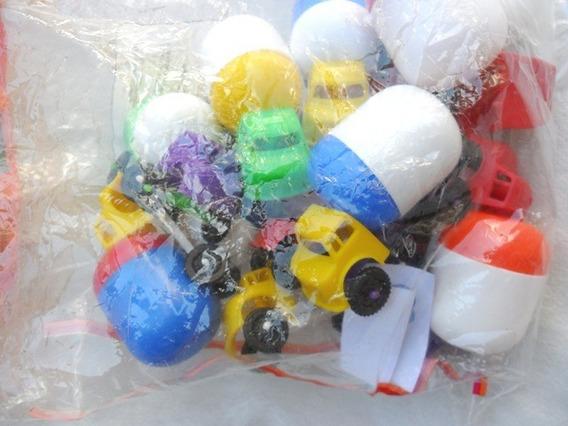 Pacote C/12 Unidades De Brinquedo Plastico Caminhão Bolha