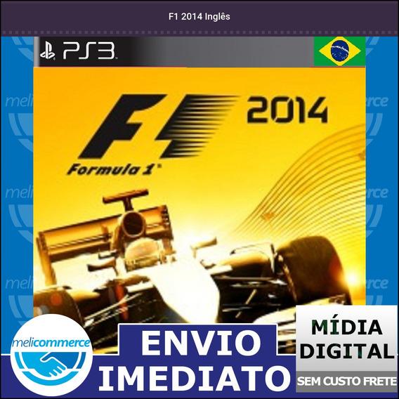 F1 2014 Inglês Digital Psn Envio Imediato