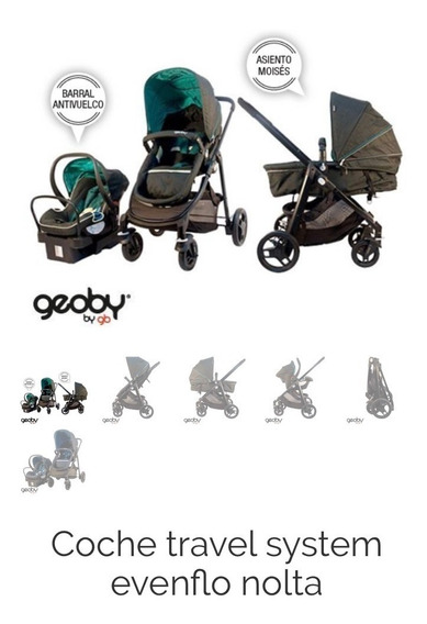 Coche Geoby Travel System