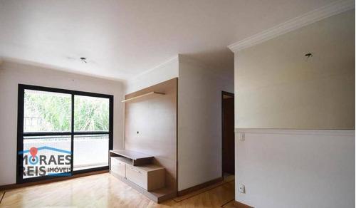Apartamento À Venda, 70 M² Por R$ 365.000,00 - Vila Andrade - São Paulo/sp - Ap16089