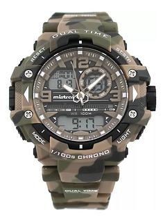 Reloj Mistral Camuflado Gadg-13614cm Arena Wr100m Ag Oficial