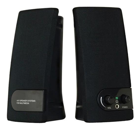 Caixa De Som Coletek Sp-202 Bk 2.0 Usb Preto