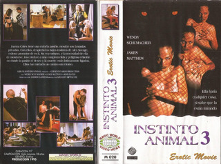 Instinto Animal 3 Vhs Animal Instincts Iii 1996 Erotico