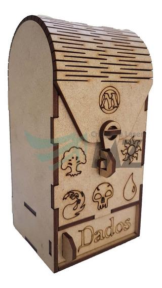 Deck Box P/ Card Game C/ Compartimento Extra - Magic
