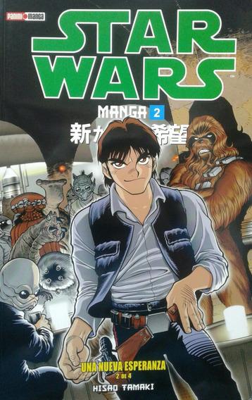 Star Wars Manga 2 Una Nueva Esperanza 2 De 4