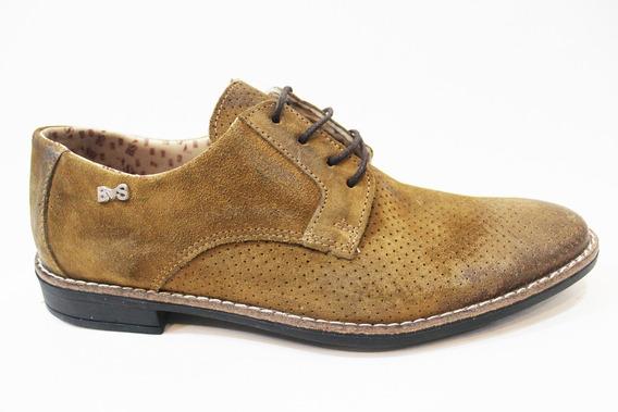 Zapato Vestir Cuero Hombre Art 9310. Marca Blood South