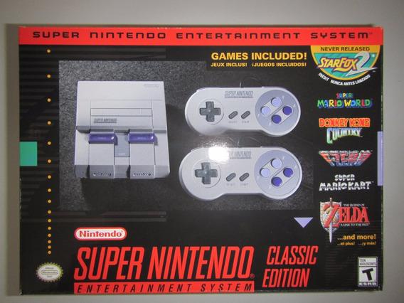 Lançamento Super Nintendo Classic Edition Snes 12 X Sem Juro