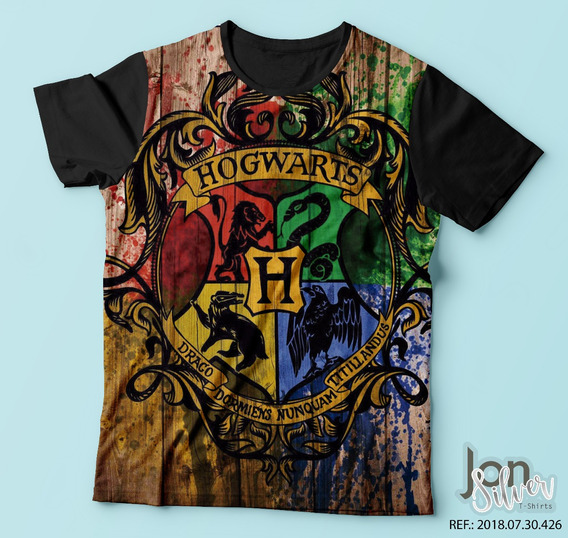 Camisa Camiseta Harry Potter Grifinória Sonserina Bruxo