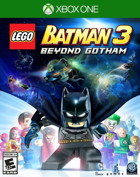 Lego Batman 3 Além De Gotham Xbox One - 25 Dígitos