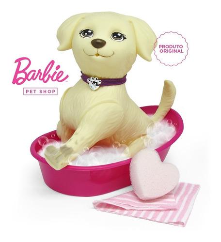 Imagem 1 de 10 de Cachorro Pet Shop Da Barbie Taff Honey Banho Banheira Pupee