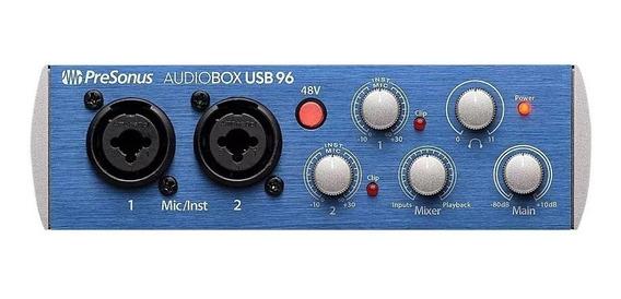 Presonus Audiobox Usb 96 Interface De Áudio Usb