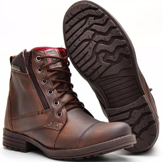 Sapato Coturno Bota Masculina Casual Adventur Social Botinha