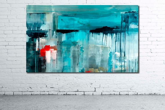 Mega Mural 146x86cm Unico! Cuadro Moderno Abstracto Deco Diseño Personalizado