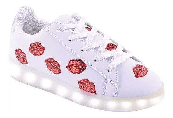 Zapatillas Luces Led 47 Street Footy Besitos Fty Calzados